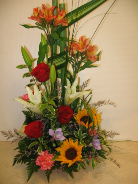 flowers for birthday - AN09 CD $84