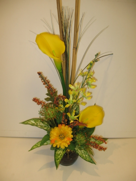 silk flower arrangement - ART01 CD $74