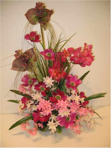 silk flower arrangement - ART04 CD $59