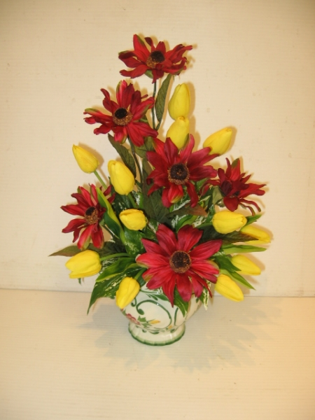 silk flower arrangement - ART05 CD $69
