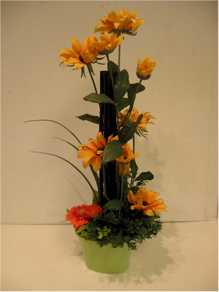 silk flower arrangement - ART07 CD $58