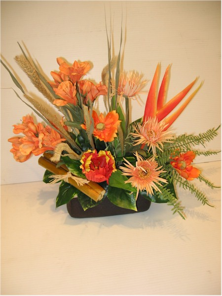 silk flower arrangement - ART08 CD $64