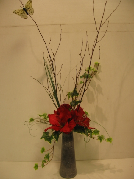 silk flower arrangement - ART09 CD $68