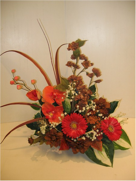 silk flower arrangement - ART10 CD $65