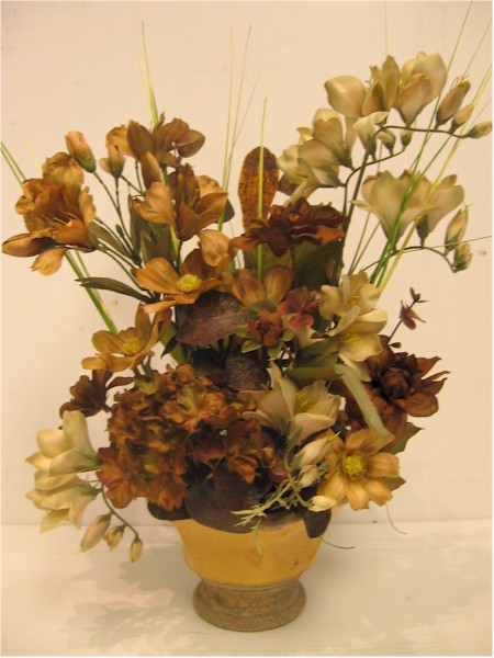 silk flower arrangement - ART11 CD $64