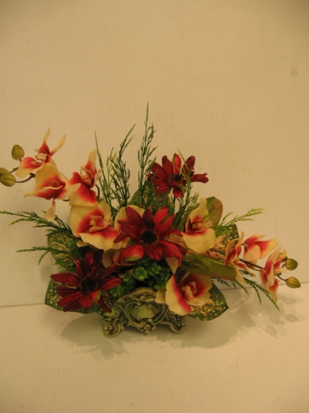 silk flower arrangement - ART12 CD $73