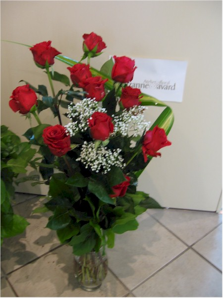 bouquet lié - BL12 74$ CAN