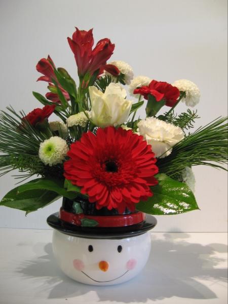 holidays christmas floral centerpiece cf01 cd 53