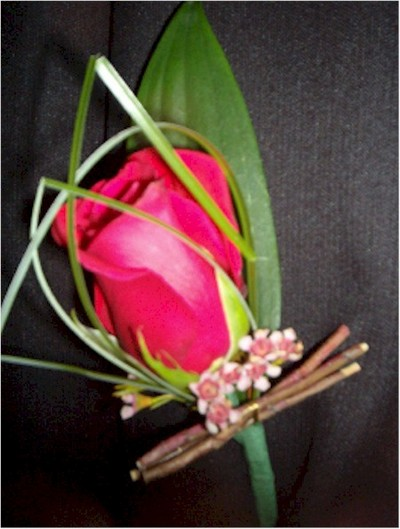 wedding boutonniere, corsage - CO03 CD $22