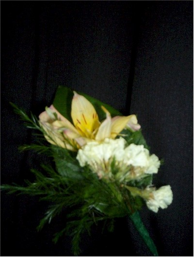 wedding boutonniere, corsage - CO05 CD $21