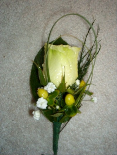 wedding boutonniere, corsage - CO06 CD $22
