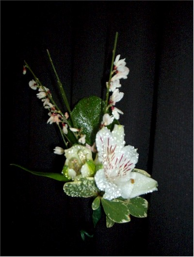 wedding boutonniere, corsage - CO07 CD $19