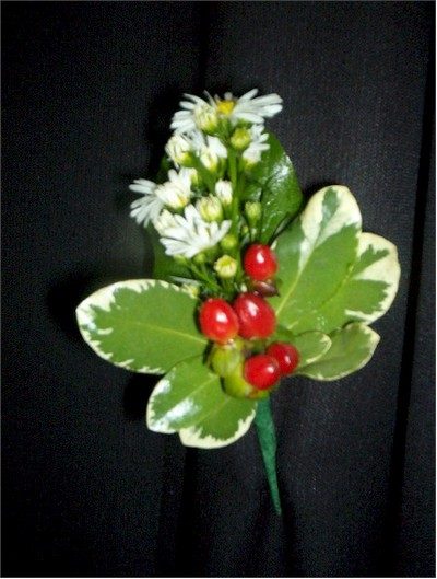 wedding boutonniere, corsage - CO08 CD $19