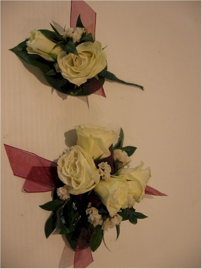 wedding boutonniere, corsage - CO09 CD $64