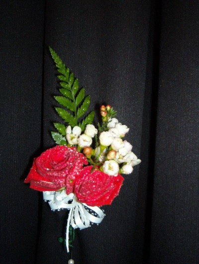 wedding boutonniere, corsage - CO12 CD $34