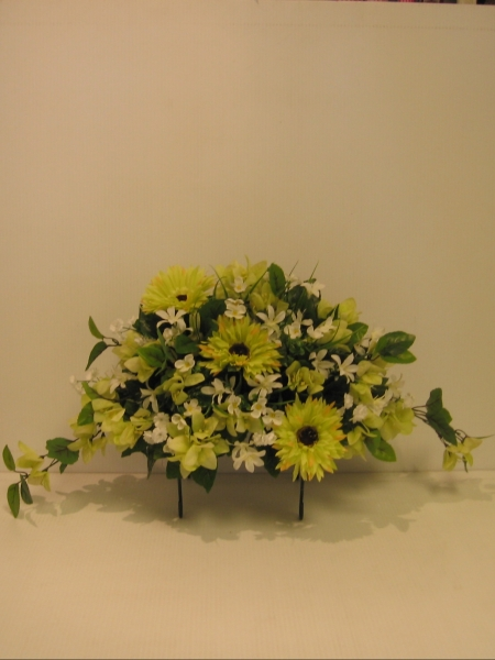 Montreal flowers laval flowers dry flowers cemetary saddle headstone floral saddle ep03 cd 100 mightylinksfo