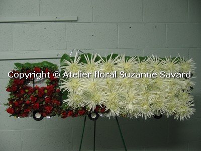 custom funeral flowers - FN1191 CD $0