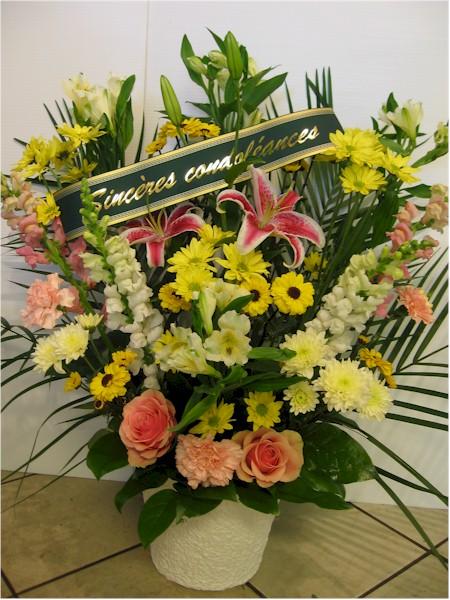 Florist Sympathy Flowers Funeral