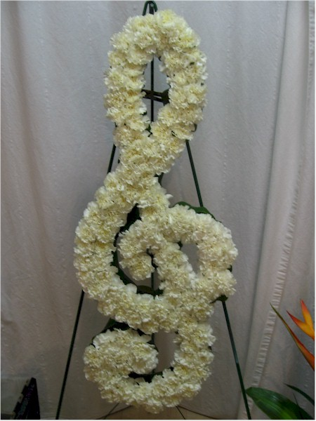 custom funeral flowers - FN1343 CD $0