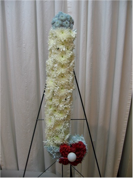 custom funeral flowers - FN1355 CD $0