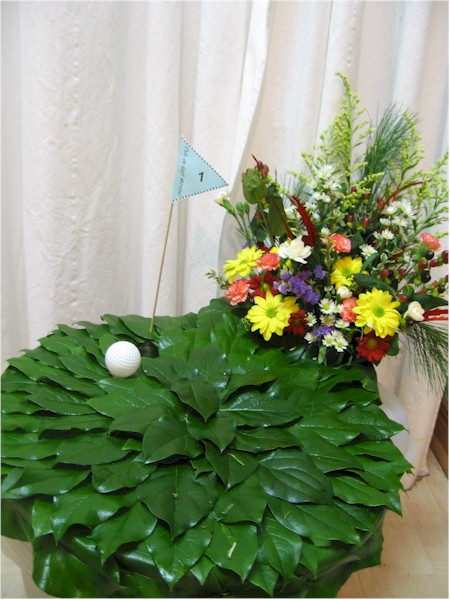 custom funeral flowers - FN1356 CD $0