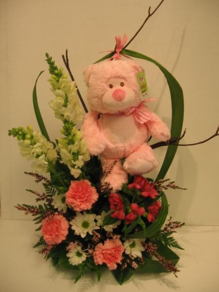 Fleuriste montr al laval fleurs naissance for Bouquet de fleurs pour une naissance